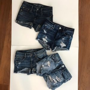 American Eagle Outfitters jean short bundle